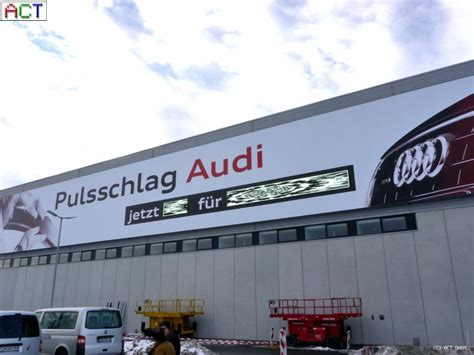 Adresse Audi Ag by Act Gmbh Led Displays Led Videowall Audi Ag Werk Ingolstadt