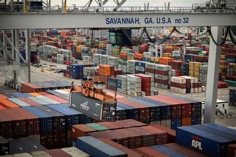 garden city terminal container availability ports busiest month