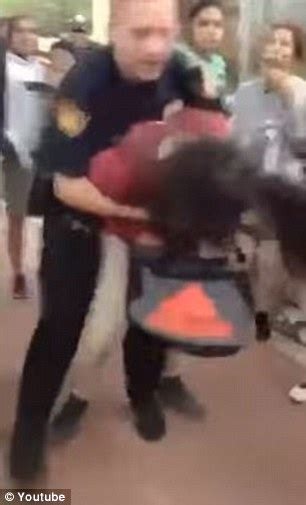 cop body slams fan cubs officer body slams girl sixth grader tossed to the floor