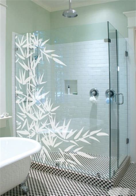 Bathroom Glass Decals Pin By On Diy For The Home