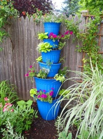 Planter Tower by Add Space With Creative Vertical Gardens Part 2 The Micro Gardener