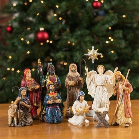 where to get life nativity set real nativity set 7 quot scale the catholic company