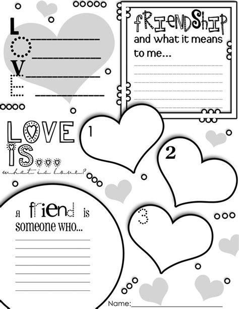 Valentine S Day Graphic Organizer Activity Poster Freebie
