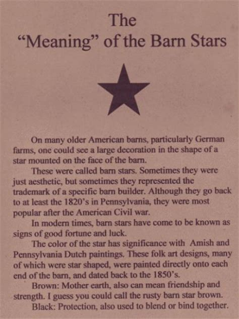 Barn Meaning the quot meaning quot of the barn barn quilts cant pennsylvania and primitives