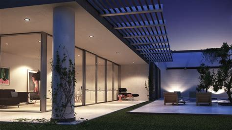 3ds max realistic night lighting an interior exterior exterior scene night hd wallpaper vray pinterest