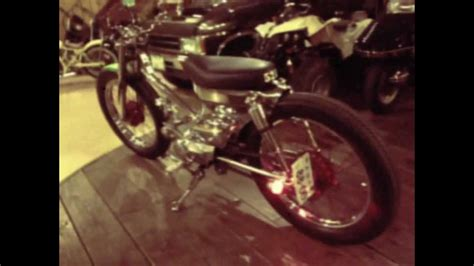Sinom Seger Waras honda cub custom iron metal cub by garage521