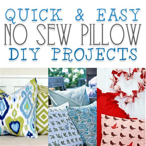 home decorating sewing projects 7 quick and easy no sew 28 quick and easy no sew 20 best photos of easy