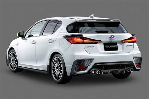 Lexus Ct 200 H by Lexus Ct 200h Gets Trd Kit And Exhaust In Japan