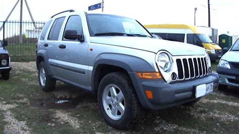 Jeep Start 2005 Jeep Liberty Start Up Engine And In Depth