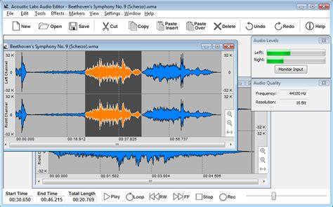 song editor free download acoustic labs audio editor 1 5 user