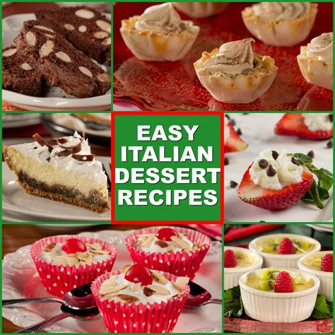 easy dinner dessert recipes 10 easy italian desserts everydaydiabeticrecipes