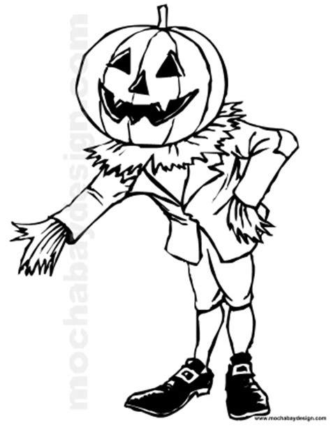 pumpkin head coloring page scarecrow head coloring page sketch coloring page