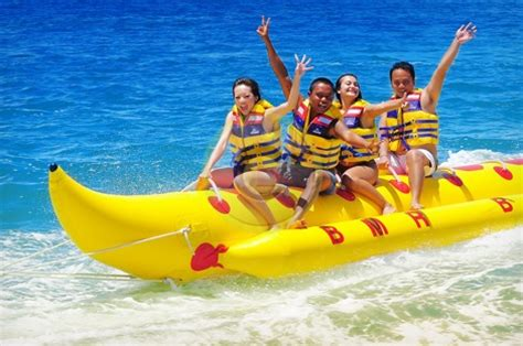 banana boat drink bali water sport packages bali tour packages