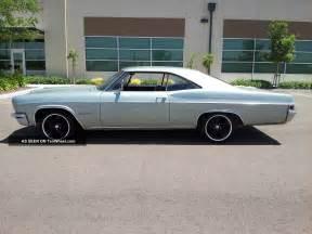 1966 Chevrolet Impala 1966 Chevy Impala Ss 2 Owner Garage Find