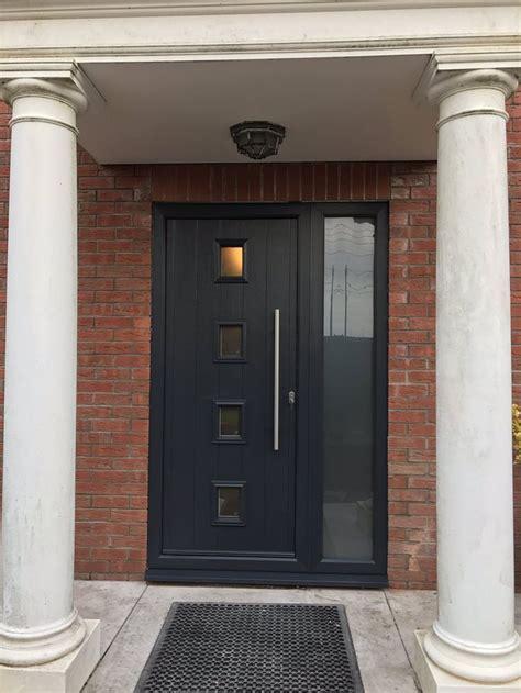 house side panels best 25 black composite door ideas on pinterest black composite front door modern
