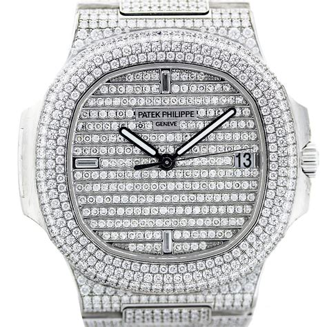 Phillipe New She Is 18 by Patek Philippe Nautilus 5719 1g 18k White Gold