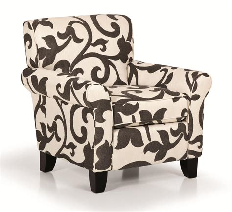 accent arm chair with ottoman stanton accent chairs and ottomans transitional rolled arm