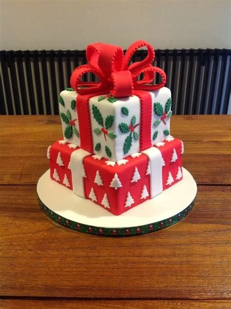 wonderland christmas cake decorating ideas