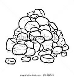 Rocking Chair Sketch Stones And Rocks Clipart 47