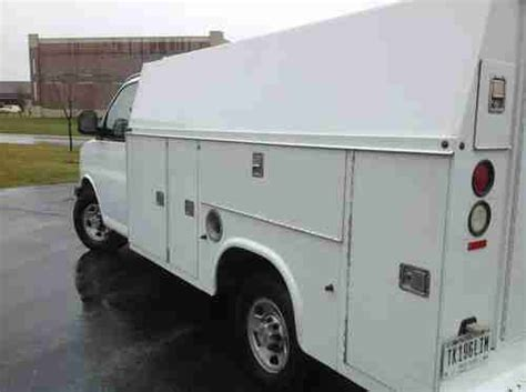 electric and cars manual 2007 chevrolet express 3500 electronic toll collection sell used 2007 chevrolet express 3500 base cutaway van 2 door 6 0l knaphiede utility box in