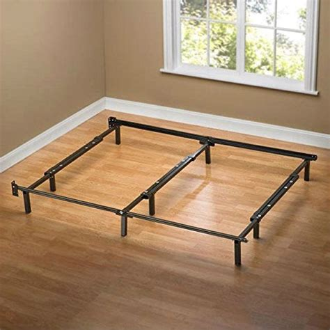9 Leg Bed Frame Size 9 Leg Metal Bed Frame With Headboard Brackets And Center Support Fastfurnishings