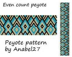 bead loom pattern square stitch pattern ethnic style