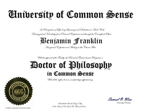 doctorate degree certificate template study dgree january 2011