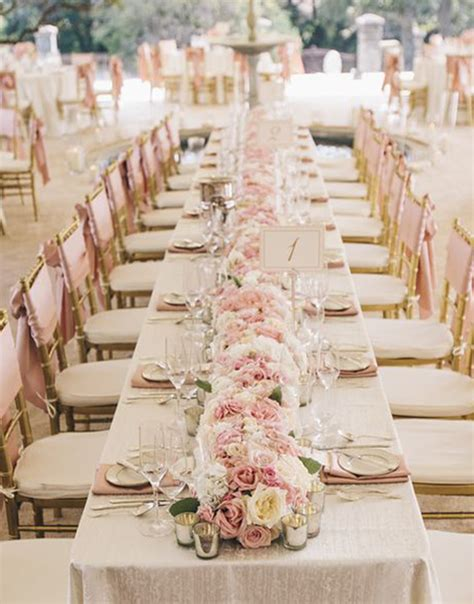 wedding table table wedding decorations archives weddings romantique
