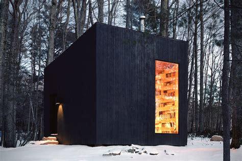 Cabin In New York by Minimalist Wooden Cabin In New York Fubiz Media