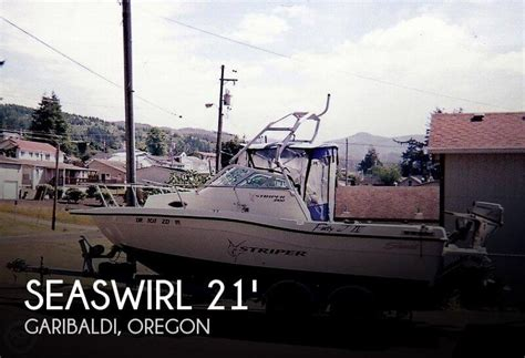 striper boats for sale oregon sold seaswirl striper 2100 wa boat in garibaldi or 091952