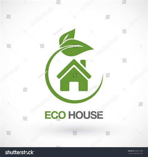 house logo design vector real estate eco house logo design stock vector 298411985