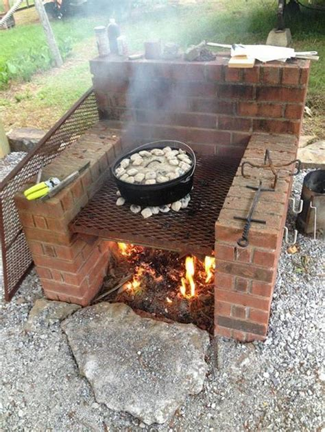 how to build a backyard grill build a brick barbecue for your backyard diy projects
