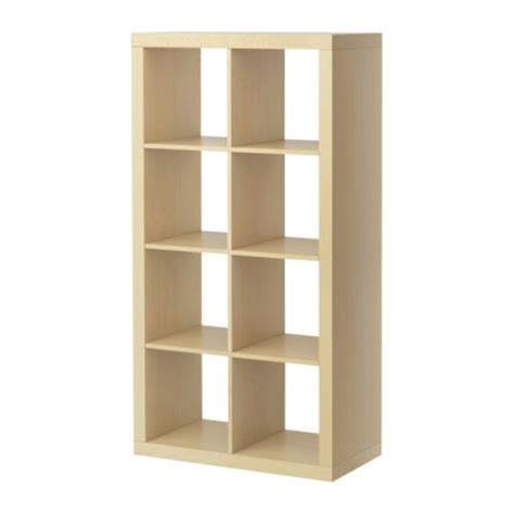 Home Ikea Birch Bookshelves