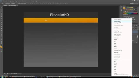 tutorial build website c photoshop cs6 tutorial website design youtube