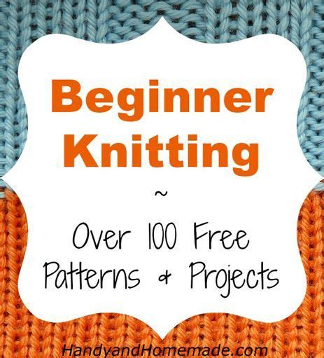stuff to knit for beginners 100 free beginners knitting patterns and projects