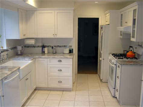 Shaker Cabinet Kitchen White Frameless Shaker Style Kitchen