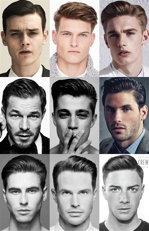 different types of mens quiffs the quiff hairstyle what it is how to style it