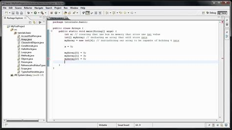 tutorial java data structures java programming 13 data structures intro arrays youtube