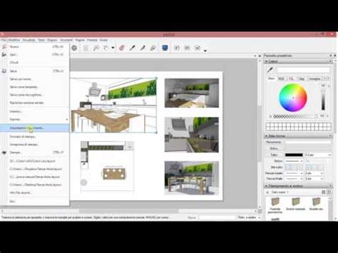 Layout Sketchup Tutorial Italiano | sketchup 2016 italiano