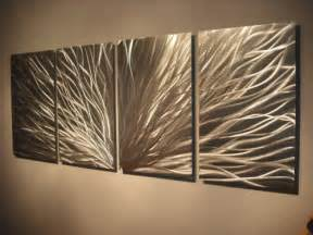 Modern Wall Art by Metal Wall Art Abstract Contemporary Modern Decor