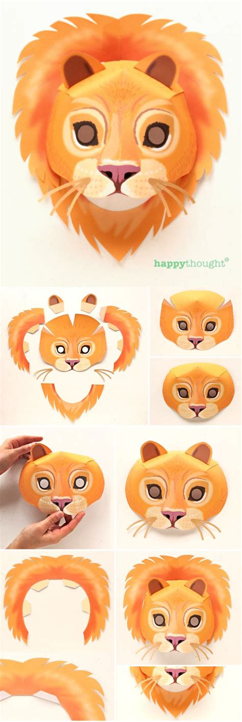 printable wild animal masks best 25 animal mask templates ideas on pinterest mask
