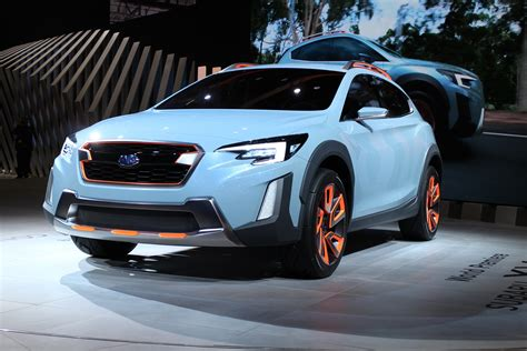 subaru forester concept subaru xv concept hints at next crosstrek due for 2018