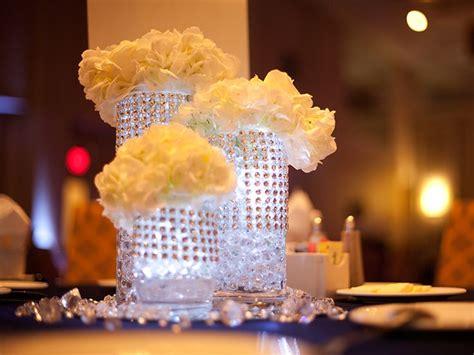 Floral Centerpiece For Denim And Diamonds Event Denim And Diamonds Centerpieces