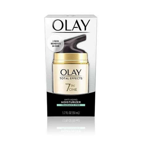 Olay Total Effects Daily Moisturizer total effects anti aging moisturizer fragrance free