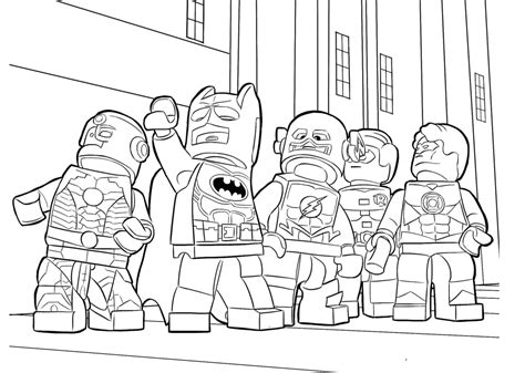 coloring page of boy and girl playing coloring pages lego heroes coloring page for boys