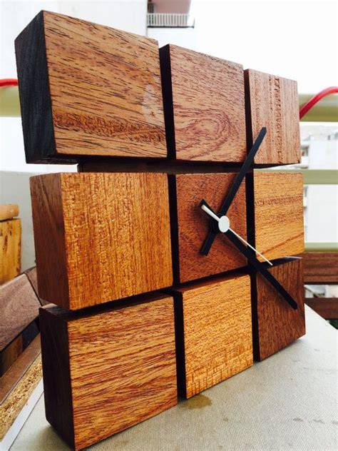 Handcrafted Wooden Clocks - 25 unique wooden clock ideas on wood clocks