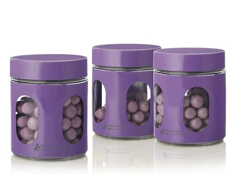 purple canister set kitchen mw kitchen candy canister jar sets in red purple lime