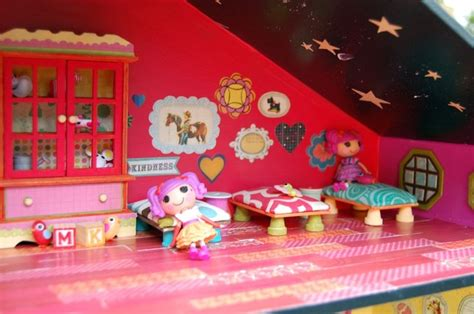 lalaloopsy doll houses homemade mini lalaloopsy dollhouse itty bitty tiny mini s pinterest
