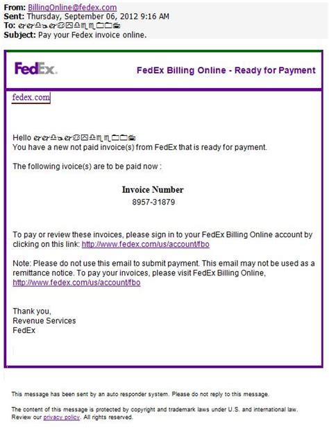 sle letter via fedex sle business letter