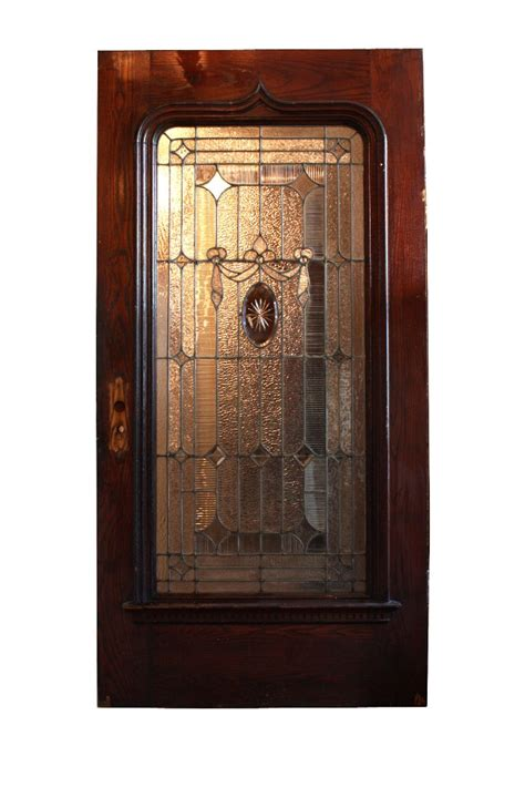Antique Exterior Doors Antique 42 Exterior Door With Beveled And